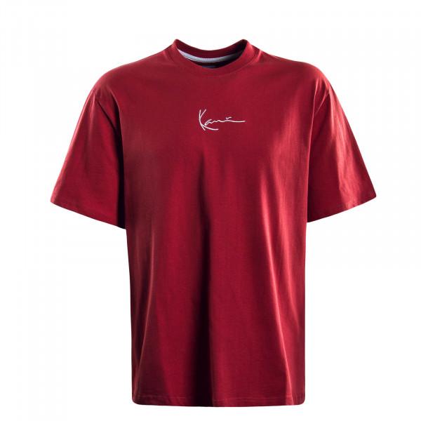 Herren T-Shirt  Signature Red White
