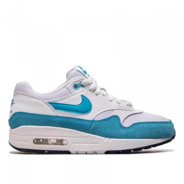 Damen Sneaker Air Max 1 White Blue Fury