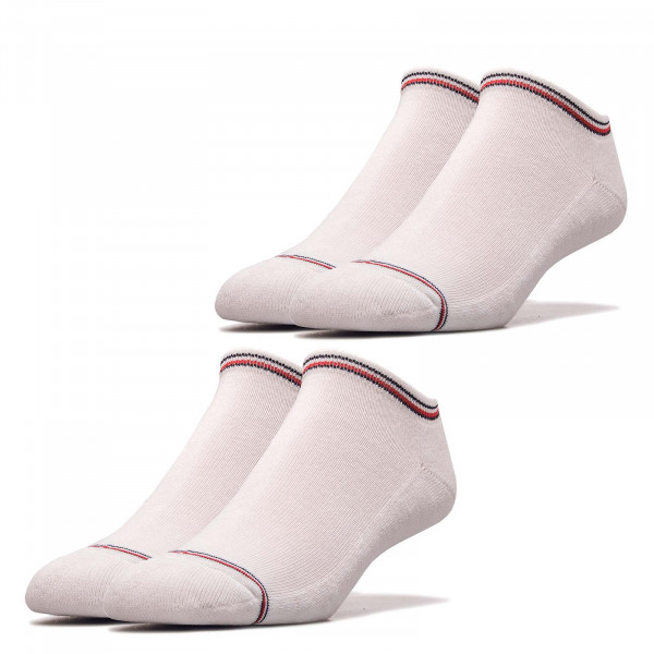 Socken TH Men Iconic Sneaker 2er Pack White