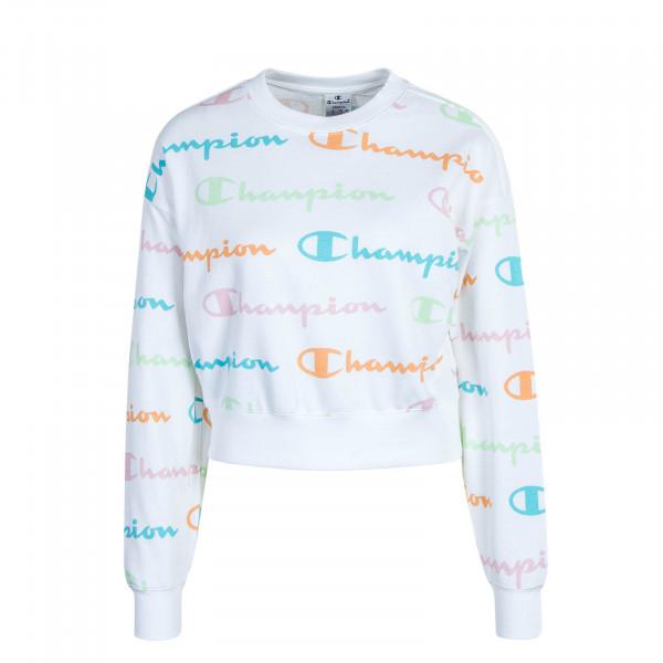 Damen Sweatshirt - 112619 - White Multi