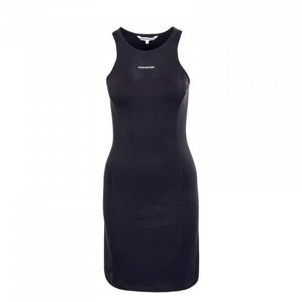 Damen Kleid - Micro Branding Racer Dress 6265 - Black