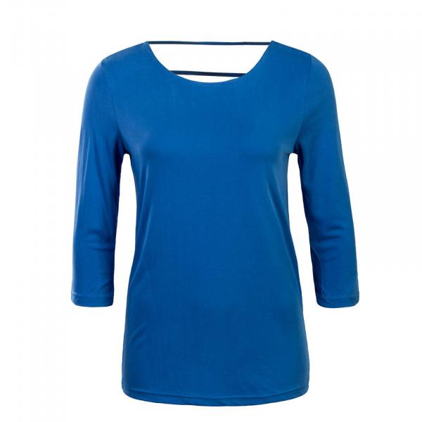 Damen Longsleeve - 3/4 Mary - Blue