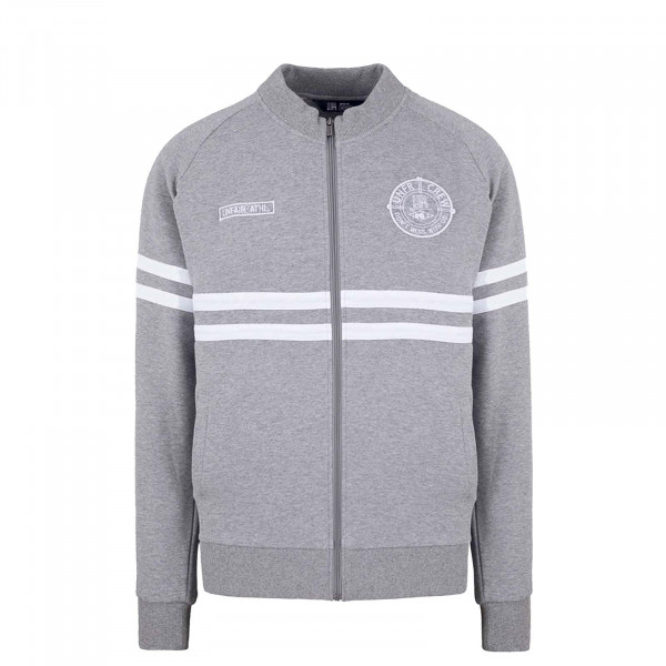 Herren Trainingsjacke - DMWU Cotton TT - Grey / Melange