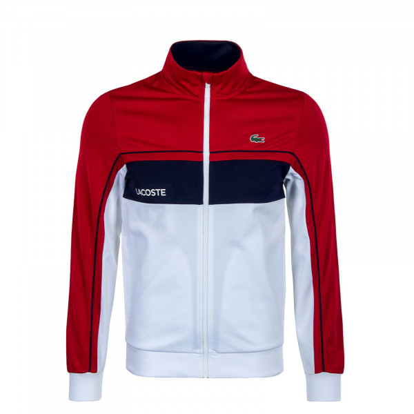 Herren Trainingsjacke - SH9543 - Ruby / White / Navy