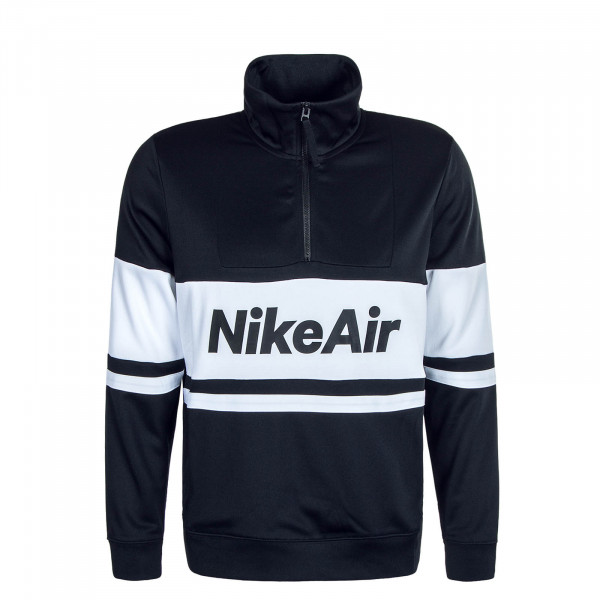 Herren Sweatshirt Air 4836 Black White