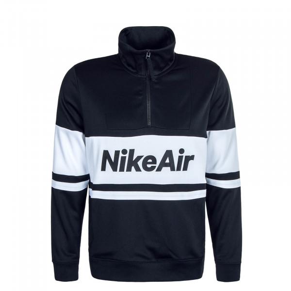 Herren Sweatshirt Air 4836 Black White