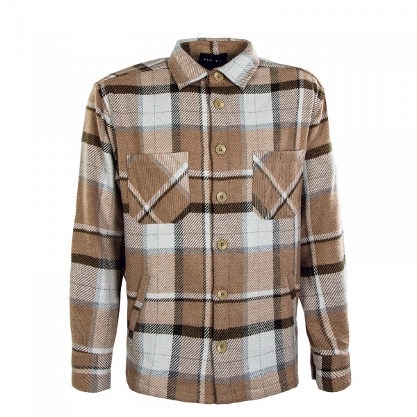 Herren Hemd - Flato Heavy Flannel Atlantic - Brown