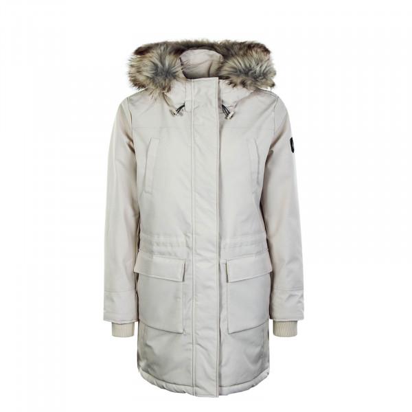 Damenmantel New Sally Long Coat Moonbeam