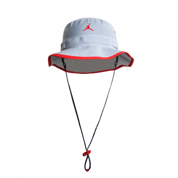 Herren Hat Jumpmann White Red