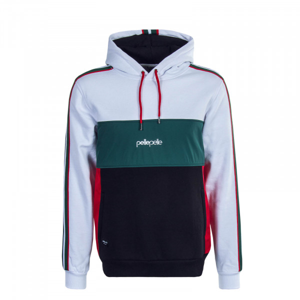 Herren Hoody Off Court White Green