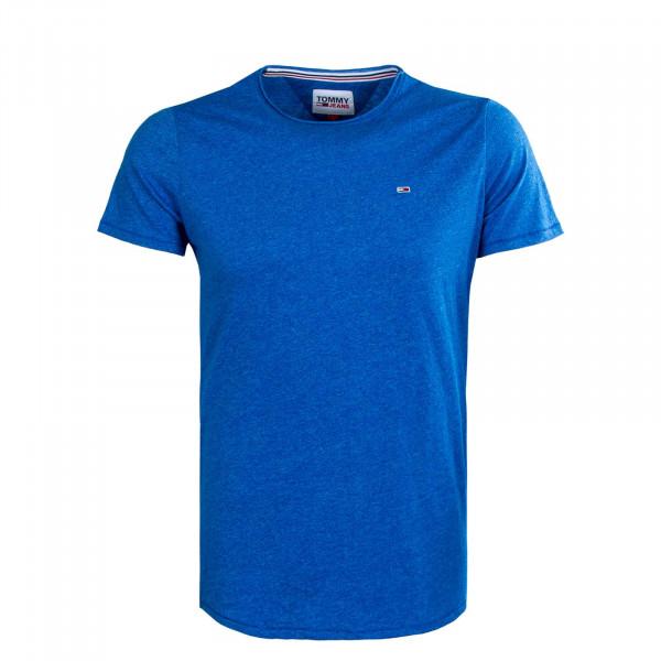 Herren T-Shirt - Slim Jaspe 9586 - Liberty Blue
