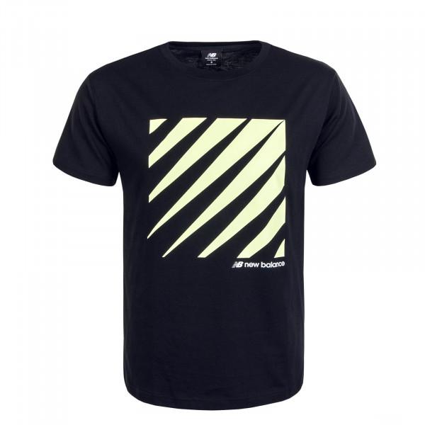 Herren T-Shirt MT01539 Black Yellow