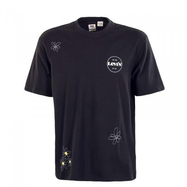 Herren T-Shirt - Stay Loose Doodle SSNL MV Logo - Black