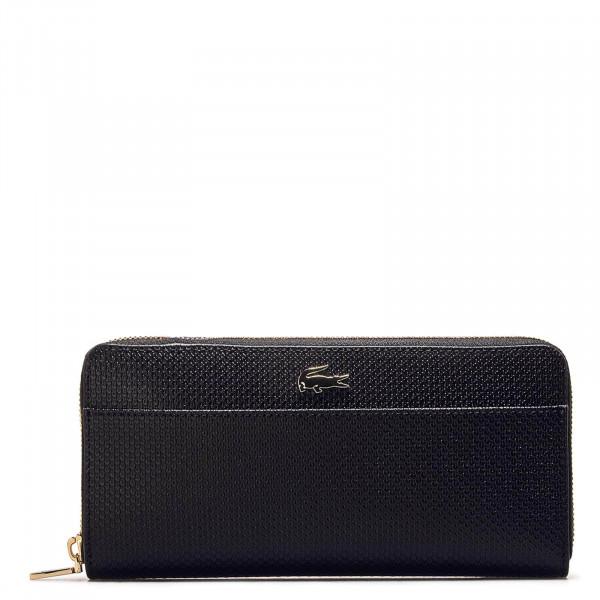 Wallet Long Zip Split Black