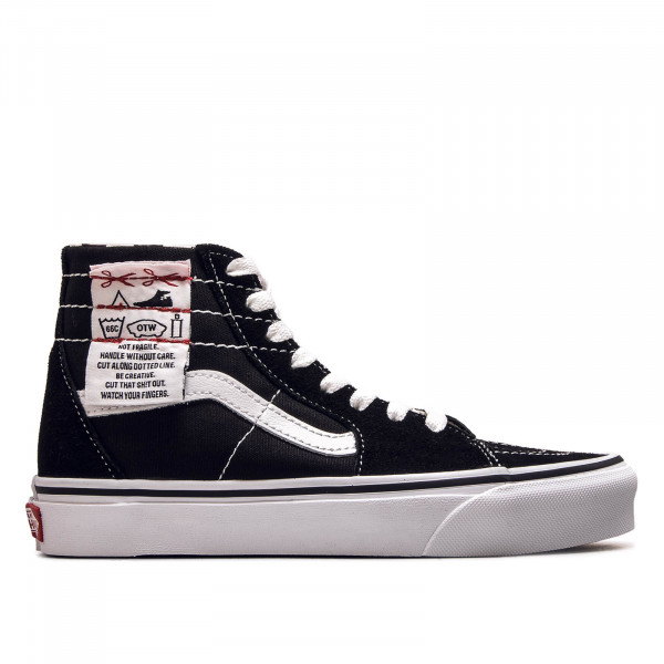 Unisex Sneaker SK8 Hi Tapered Diy Black True White