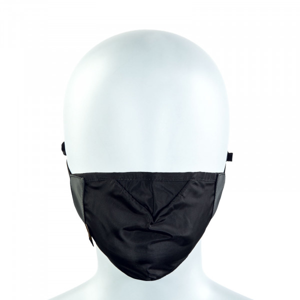 Alltagsmaske - Blackout Face Mask - Black