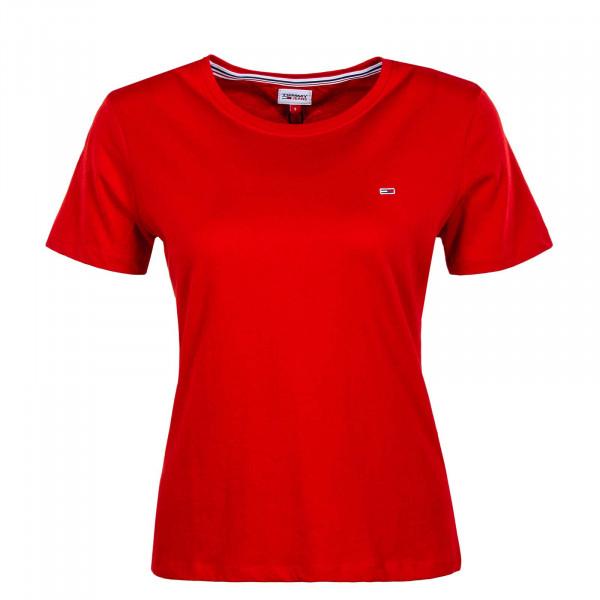 Damen T-Shirt - Soft Jersey 6901 - Deep Crimson