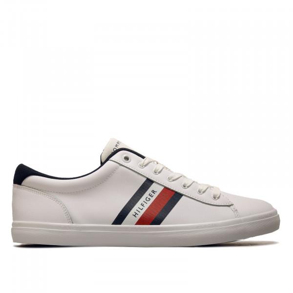 Herren Sneaker - Essential Leather Vulc Stripes - White