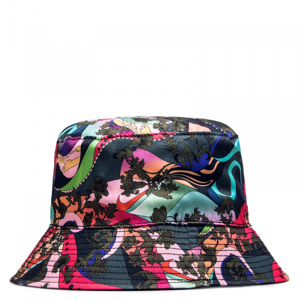 Herren Hut Iconclash Bucket Hat Black Multi