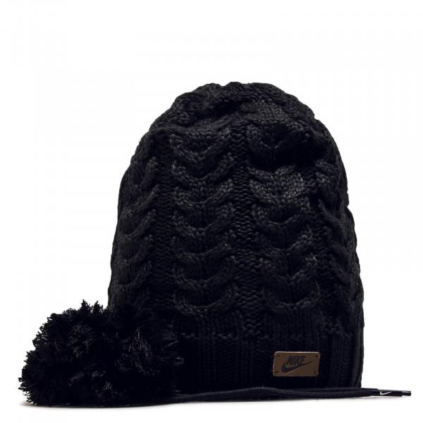 Damen Beanie Pom 3650 Black