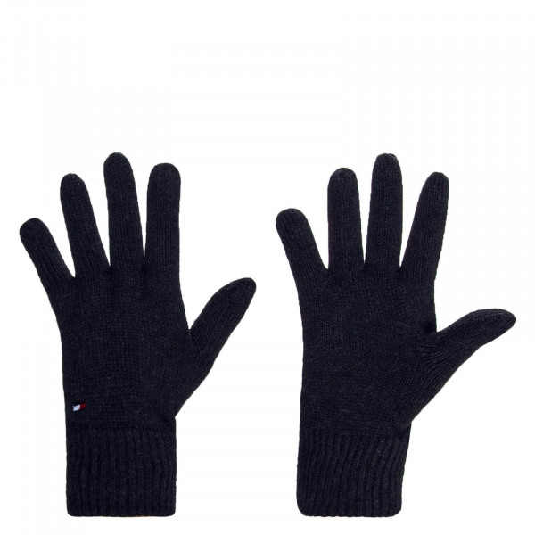 Handschuhe Pima Cotton Casmere Black Melange