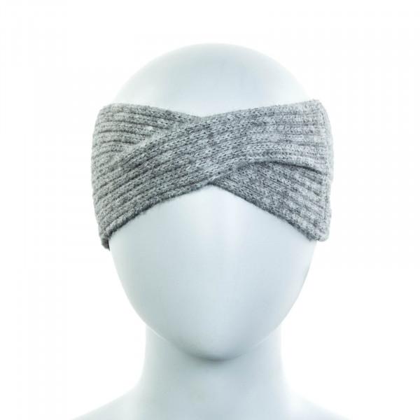 Damen Stirnband Sofia Light Grey Melange