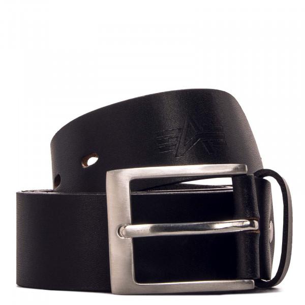 Gürtel - Embossed Alpha Belt - Black