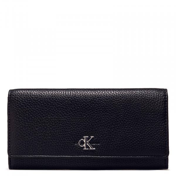 Geldbörse - Longfold Wallet - Black