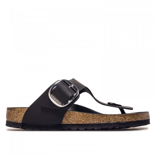 Damen Sandale - Gizeh Big Buckle NL - Black / normale Weite