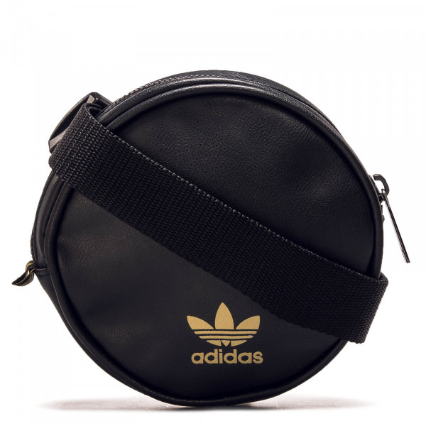 Hip Bag Round  Black Gold