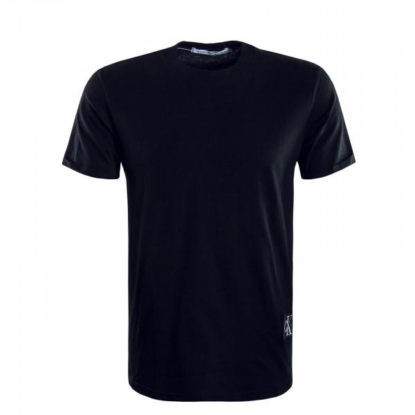 Herren T-Shirt Badge Turn Black