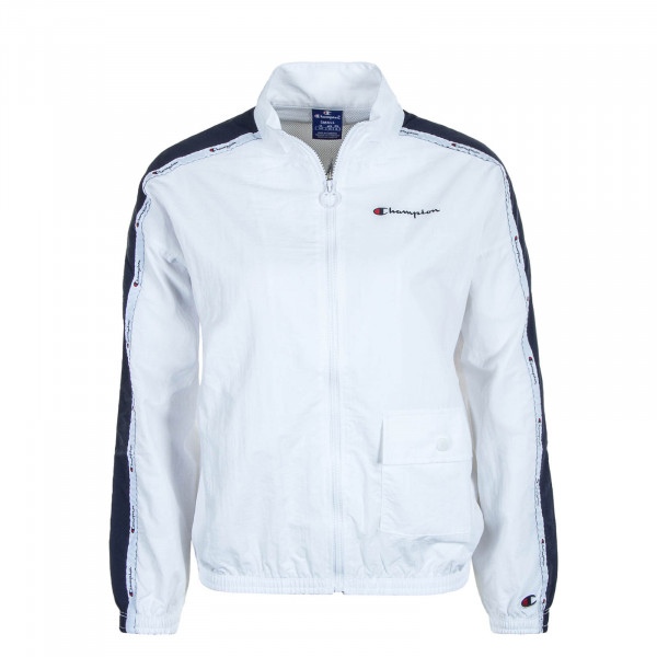 Damen Jacke Full Zip White