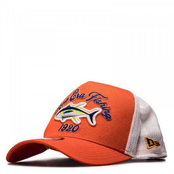 Unisex Cap - Fishing Trucker - Orange