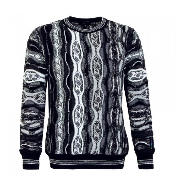 Herren Pullover - C9006 201 - Black / White
