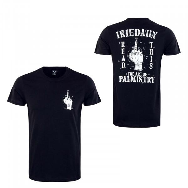 Herren T-Shirt - Palmistry - Black