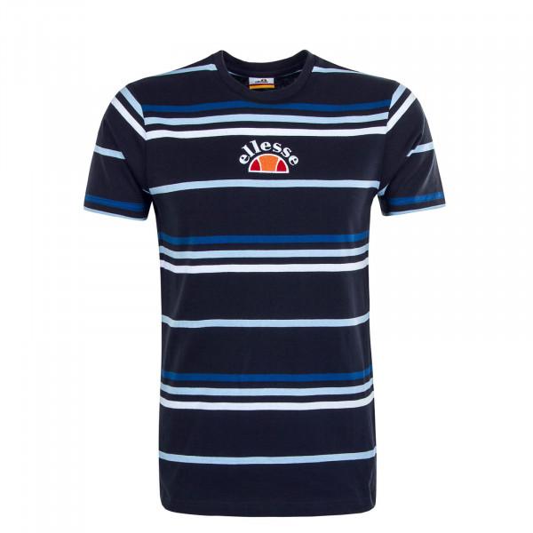 Herren T-Shirt Miniati Navy Stripe