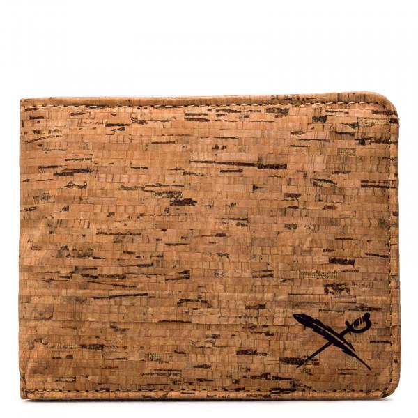 Wallet - Cork Flag - Wood