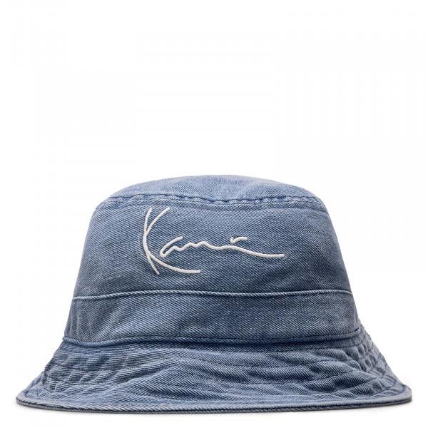 Unisex Hut - Small Signature Denim Bucket Hat - Blue