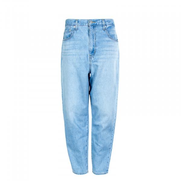 Damen Jeanshose - High Loose Taper Way Out Tencel - Blue