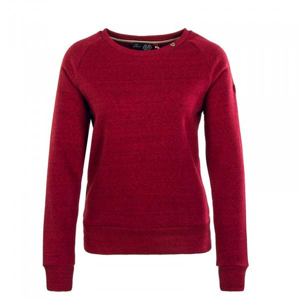 Damen Sweatshirt - Johanka - Wine Red