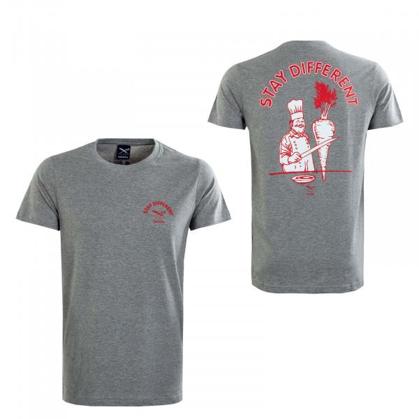 Herren T-Shirt - Voener - Grey