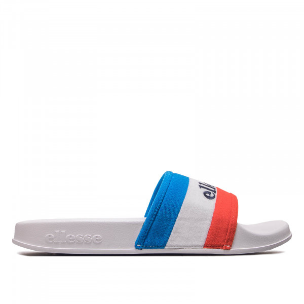 Herren Slide Borgaro White Red Blue
