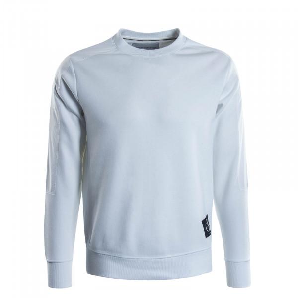 Herren Sweatshirt 4866 Mixed Media White