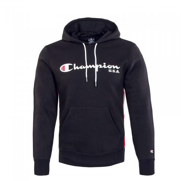 Herren Hoody - Sweatshirt - Black