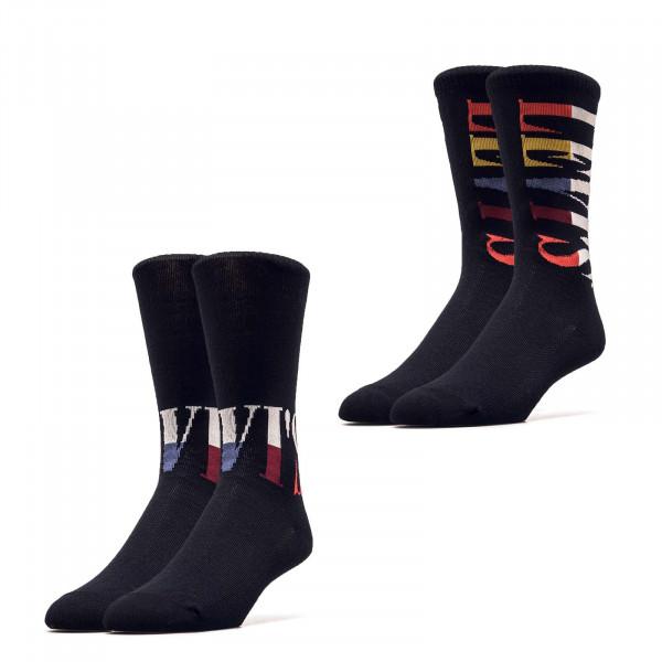 Socken - Reg Cut Split Tall Lo - Black