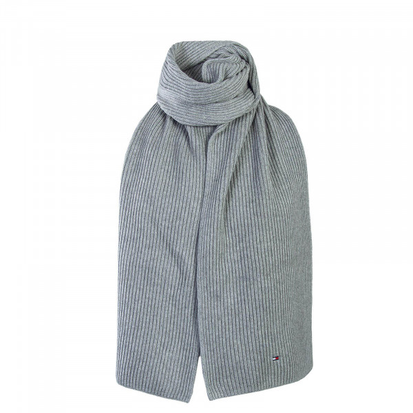 Tommy Scarf Pima Cotton Cashmere Grey