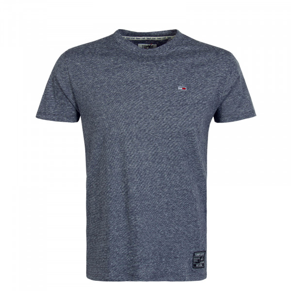 Herren T-Shirt 7809 Slub Twilight Navy