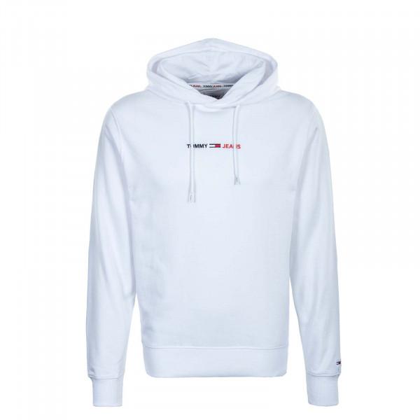 Herren Hoody - Straight Logo 10190 - White