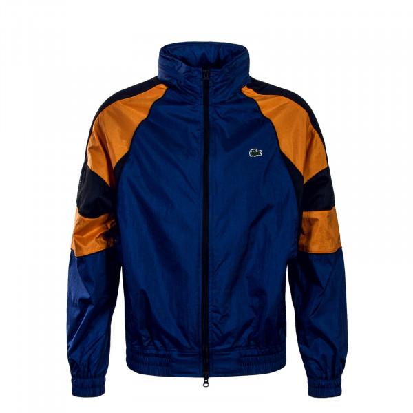 Herren Jacke - Blouson - Blue Orange