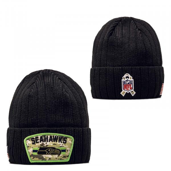 Beanie - NFL21 STS Knit Seattle Seahawks - Black